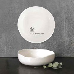 East of India Bits & Bobs Porcelain Trinket Dish