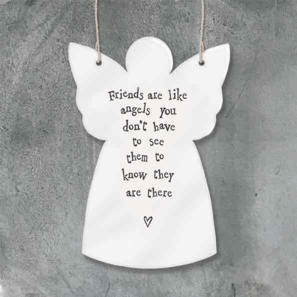East of India Friends Like Angels Porcelain Angel