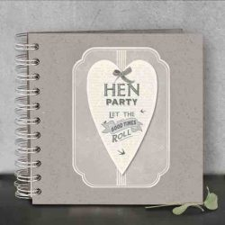 East of India Hen Party Guest Book