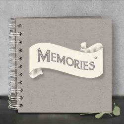 East of India Memories Ribbon Book