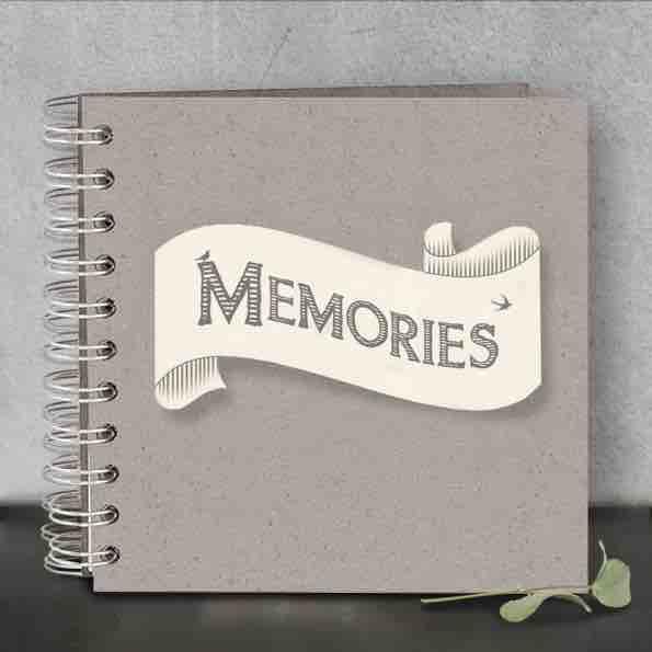 East of India Memories Ribbon Book