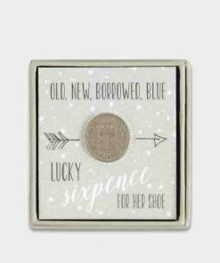 East of India Modern Sixpence for Her Shoe