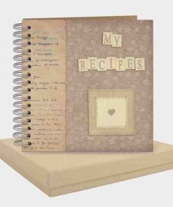 East of India My Recipes Pocket Book White
