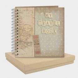 East of India My Travel Book Pocket Book White