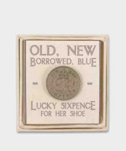 East of India Traditional Sixpence for Her Shoe
