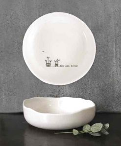 East of India You Are Loved Porcelain Trinket Dish
