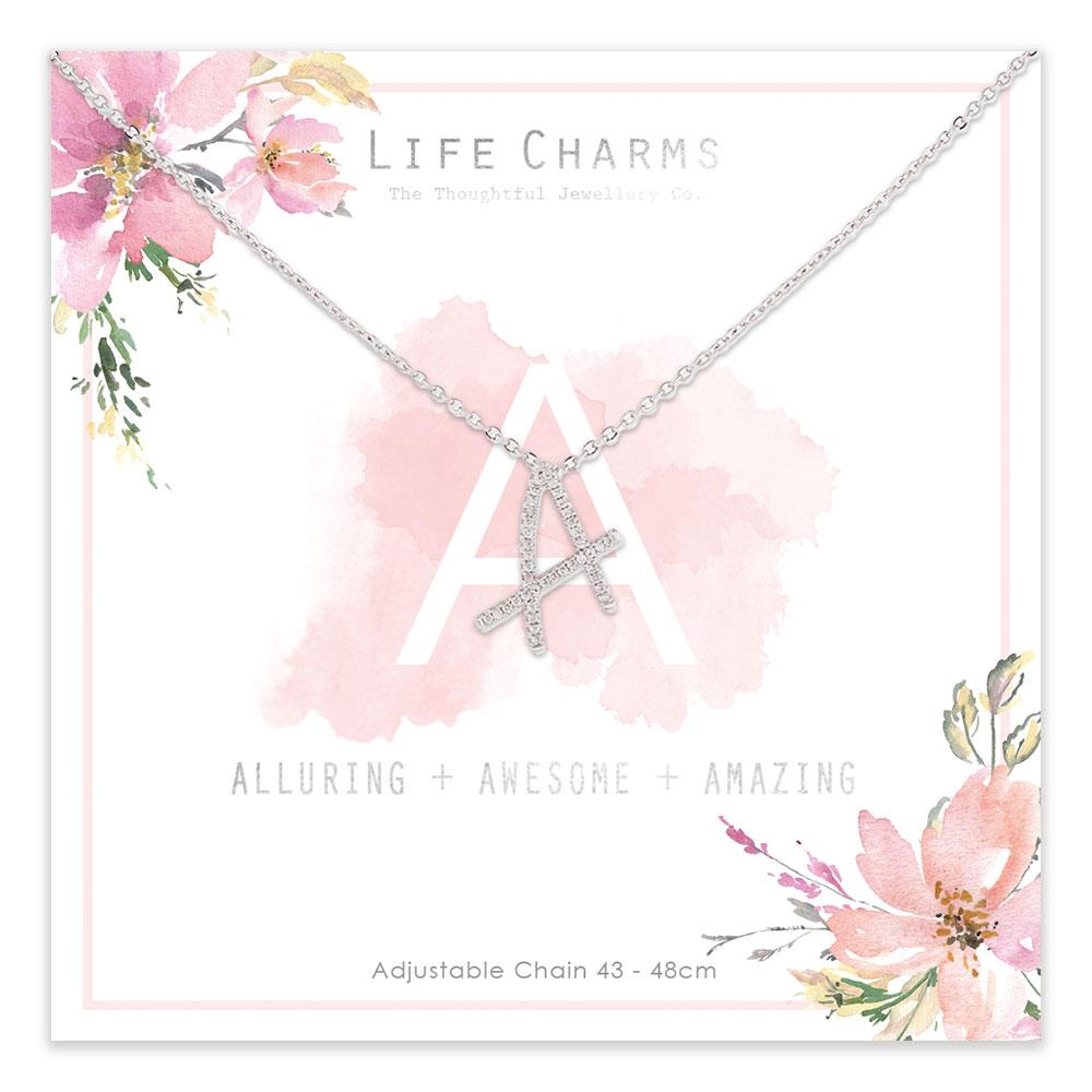 Life Charms A is for Alluring Necklace
