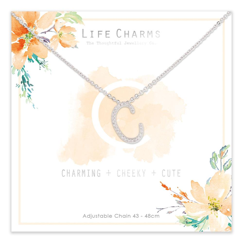 Life Charms C is for Charming Necklace