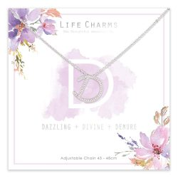 Life Charms D is for Dazzling Necklace