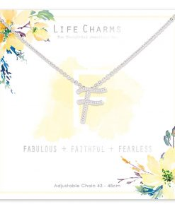 Life Charms F is for Fabulous Necklace