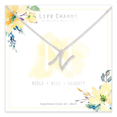 Life Charms N is for Noble Necklace