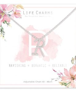 Life Charms R is for Ravishing Necklace