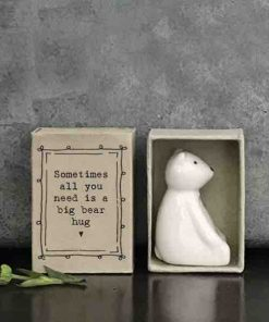 Matchbox Porcelain Bear In Box