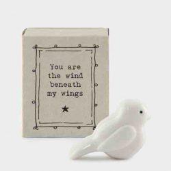 Matchbox Porcelain Bird
