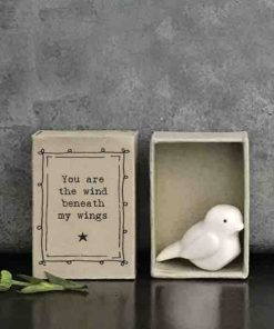 Matchbox Porcelain Bird In Box