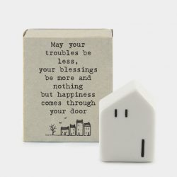 Matchbox Porcelain House Happiness