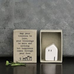Matchbox Porcelain House Happiness In Box