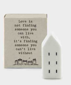 Matchbox Porcelain House Love