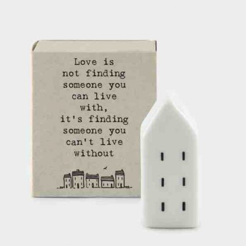 Matchbox Porcelain House Love