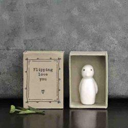 Matchbox Porcelain Penguin In Box