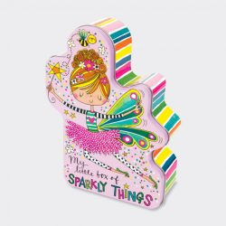 Fairy Sparkly Things Kids Shaped Storage Tin