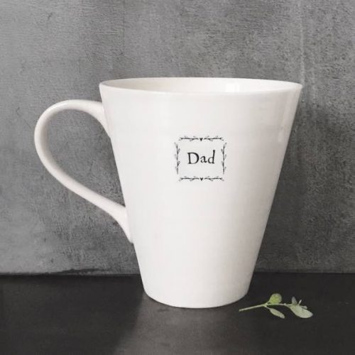 East Of India Dad Porcelain Mug