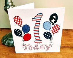 Birthday Age Greetings Card