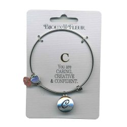 Bijoux Fleur 'C is For Caring..' Bangle