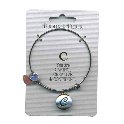 Bijoux Fleur 'C is For Caring..' Bangle