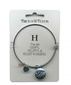 Bijoux Fleur 'H is For Happy..' Bangle