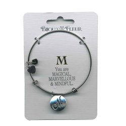 Bijoux Fleur 'M is For Magical..' Bangle
