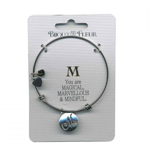 Bijoux Fleur 'M is For Magical..' Bangle