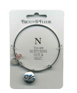 Bijoux Fleur 'N is For Nurturing..' Bangle
