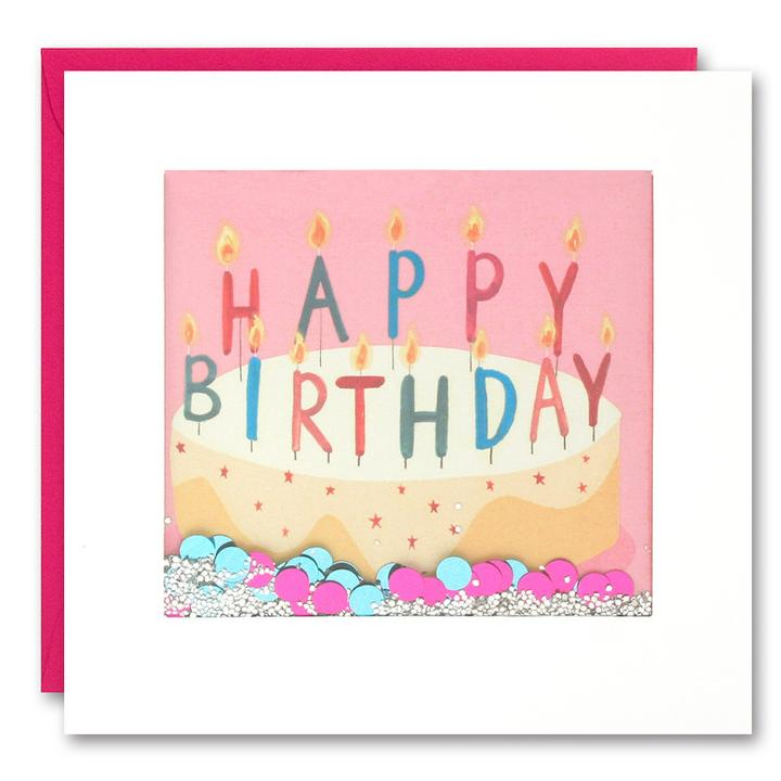 Fine Birthday Cake With Pink Background Shakies Card The Alphabet Store Funny Birthday Cards Online Fluifree Goldxyz