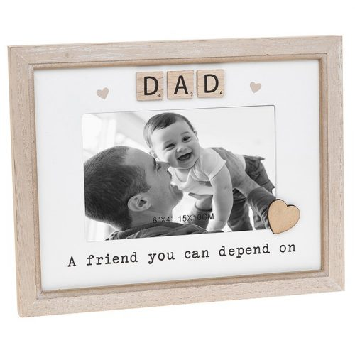 Dad Scrabble Sentiments Photo Frame