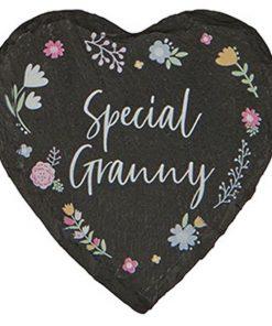 Granny Slate Coaster