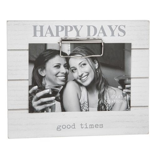 Happy Days Clipboard Photo Frame