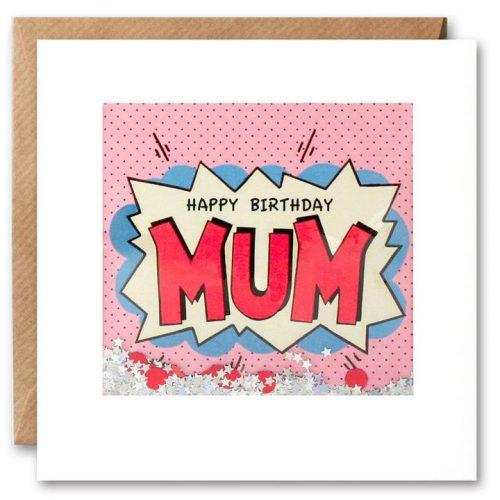 Mum Birthday Kapow Shakies Card