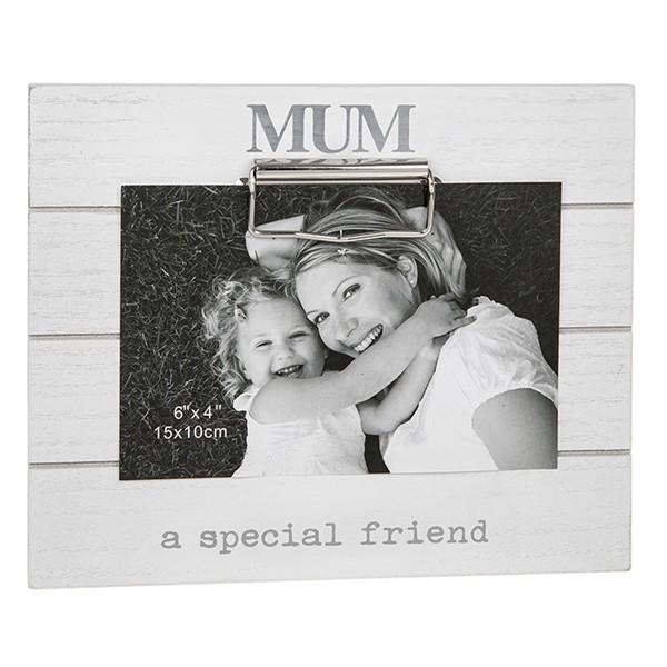 Mum Clipboard Photo Frame