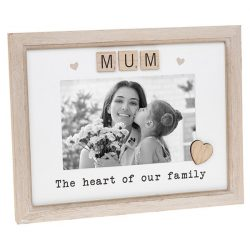 Mum Scrabble Sentiments Photo Frame