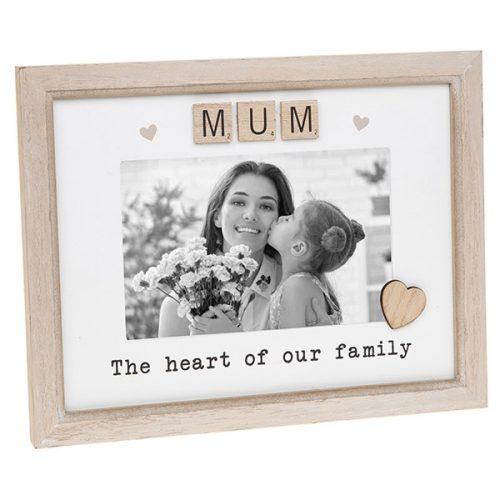 Mum Scrabble Sentiments Photo Frame