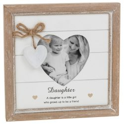 Provence Daughter Heart Photo Frame