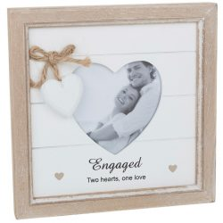 Provence Engaged Heart Photo Frame