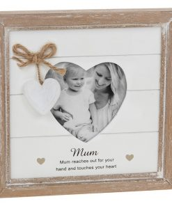 Provence Mum Heart Photo Frame
