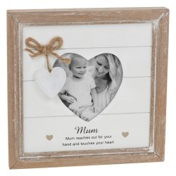 Provence Mum Heart Photo Frame