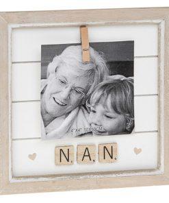 Nan Scrabble Peg Photo Frame