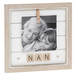 Nan Scrabble Peg Photo Frame