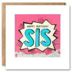 Sis Kapow Shakies Card