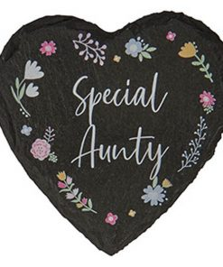 Aunty Slate Coaster