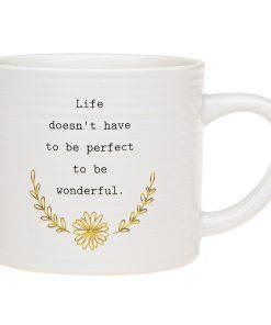 Thoughtful Words Life Mug